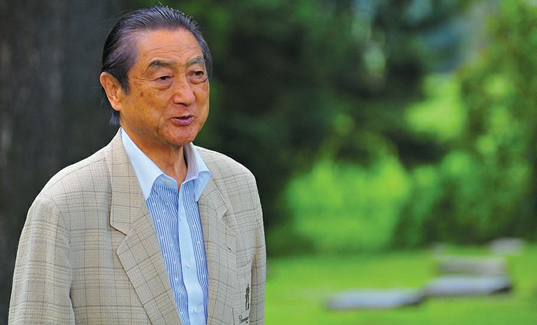 Mayor Nakano is pictured during his most recent visit to Hood River in 2012. Nakano is in town this week and will be honored by the community for his 40 years of service to the Hood River-Tsuruta Sister City exchange program, which he helped found in 1977.