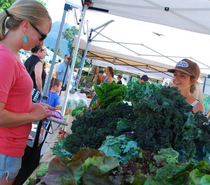 The White Salmon Farmers' Market returns July 1 and will continue every Tuesday through the summer from 4 p.m. to 7 p.m. at Feast Market and Delicatessen. Around 10 vendors have signed up for this year's market where SNAP and WIC benefits will be recognized along with Senior Farmers Market Nutrition Program benefits.