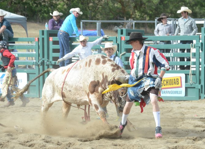 Just one bull rider was able to stay on his animal as the stock provided by Superior Rodeos turned in a dominant performance last Saturday.