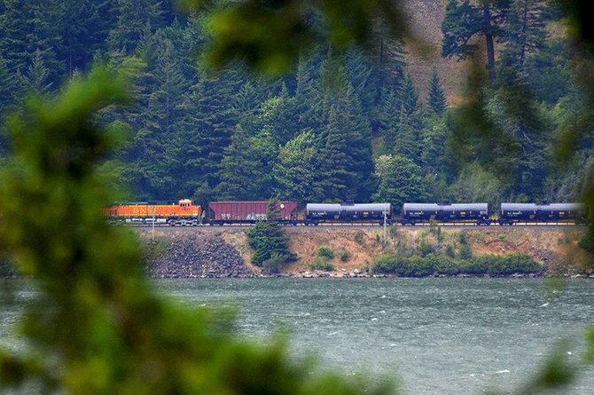 According to statistical analysis by Mayor Babitz, the Gorge has 150 miles of railroad that could expect to see 1.2 derailments per year.