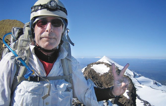 PAUL CROWLEY earned his lifetime membership in the Crag Rats search and rescue team by summiting North Sister in June 2013. He has climbed six other mountains and will soon step down from his role as presiding judge of the Seventh Judicial District to seek out new challenges.