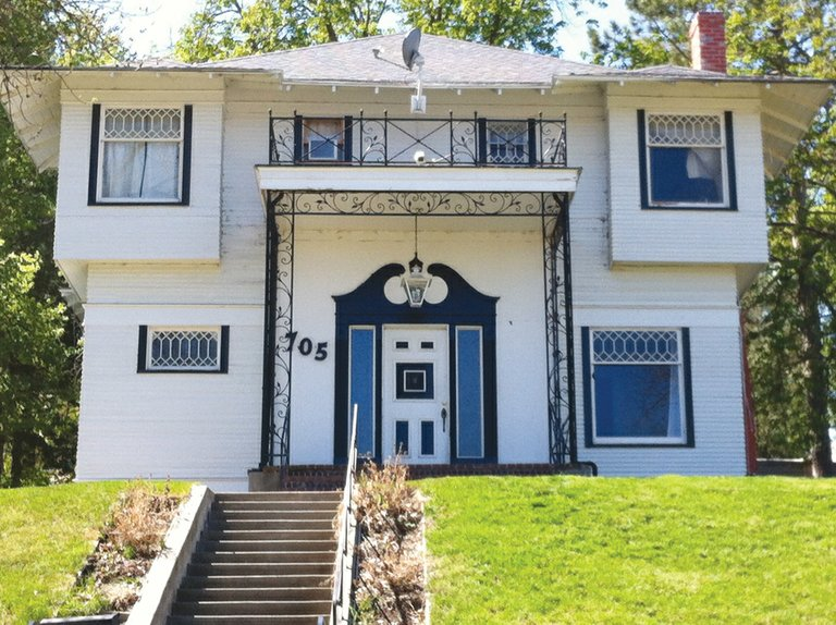 The Rowland home on Sunnyside's Harrison Hill was one of the first seven homes to be constructed in the neighborhood. Bernie Barker is compiling research on this home, as well as other historic homes in the community.