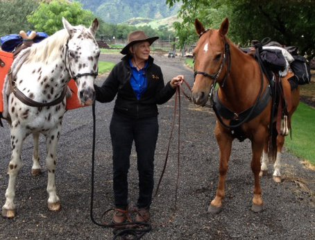 Hetty Dutra is reprising her 1994 ride down the Nez Perce National Historic Trail.