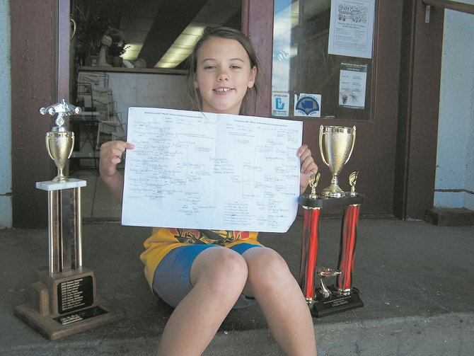 Danielle Fuller, of White Salmon, has qualified to compete at next month's 77th annual All-American Soap Box Derby World Championships in Akron, Ohio. The 8-year-old earned her place by winning the stock division on Sunday at the 63rd Salem (Ore.) Soap box Derby Local Championships. Fuller is in her first year of competition.