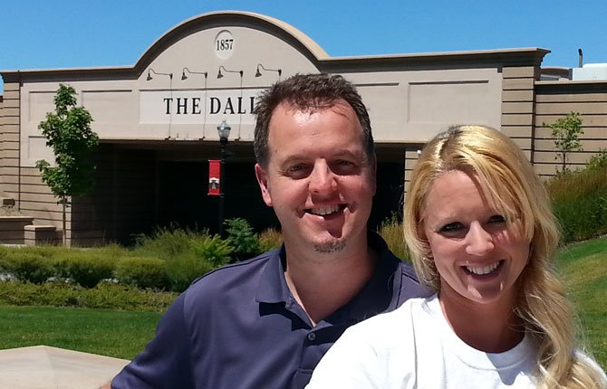 Doug and Melissa Kirchhofer spearheaded the Fort Dalles Fourth effort. Contributed photo