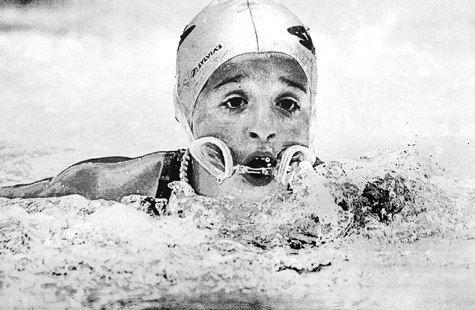 2004: Sunnyside's Sydnee Hernandez lost her goggles during the girls 8&U, 50-meter butterfly race in a meet against the Toppenish Tarpons. In spite of the equipment malfunction, the Sunnyside Shark earned third-place honors.
