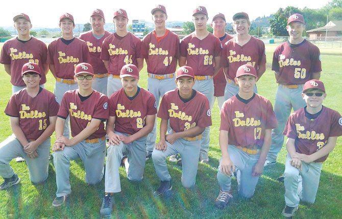 THE DALLES 14U All Stars ended a week of baseball action at the Babe Ruth State Tournament at David Douglas High School in Portland. After losing 4-3 in the semifinals to Pendleton, the team, coached by Jeff Justesen, jumped off the deck to rally for an 11-4 winner over Salem/Keizer to grab third place.
