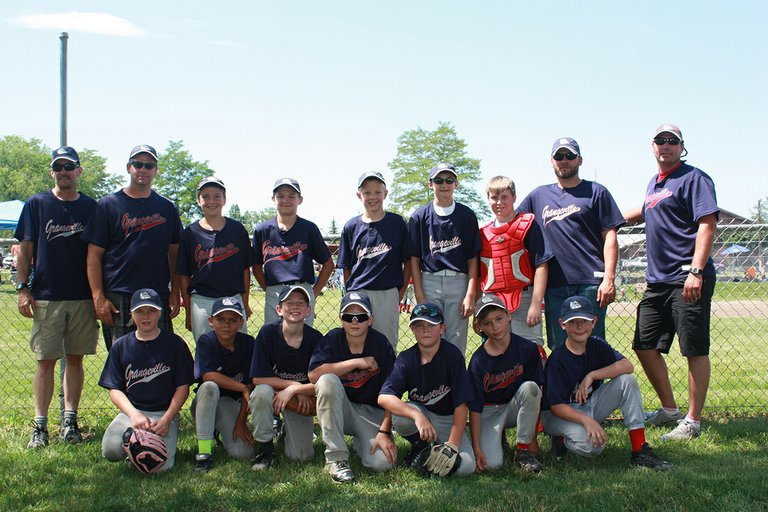 Grangeville's Little League All-Stars placed third in the annual Ken Heath Memorial Tournament held July 11-12.