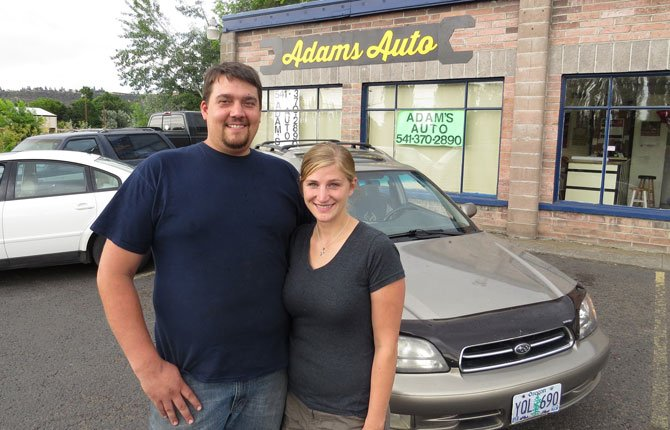ADAM AND RACHEL Knopf have launched Adams Auto at 2716 W. Second St. in The Dalles.