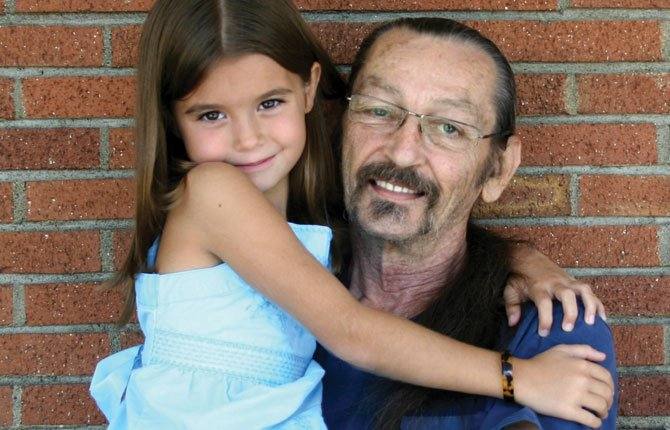 ALYSSA WHITWELL, 7, kept calm in a scary situation and called 911 when her grandfather, Lynn Whitwell, had a diabetic reaction.