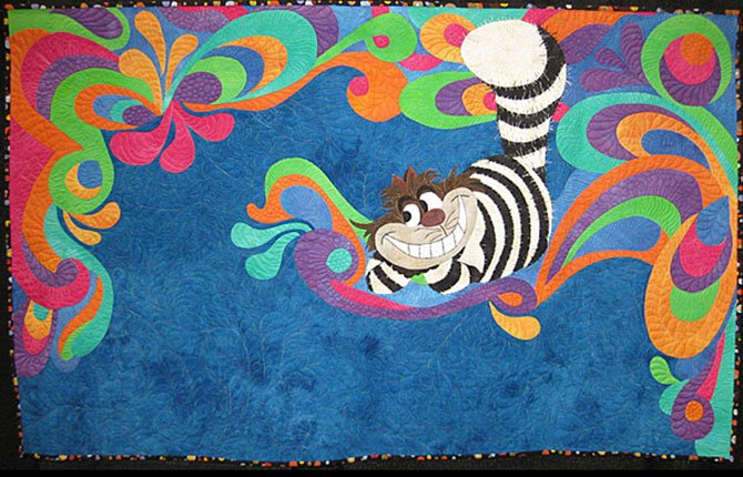 """ALICE IN WONDERLAND"" by Carolanne Olson is among the works featured in the Columbia River Gorge Quilters' Guild annual Quilt Show at Hood River Middle School, Aug. 14 to Aug. 16.	Contributed photo"