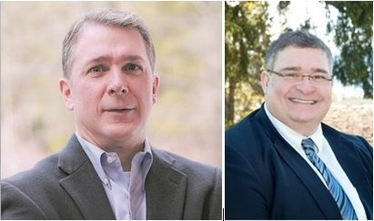 Jeff Baker and Dave Brown are contending to be the next West District Court Judge.