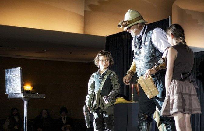 PROFESSOR ALGERNON performs Saturday, Aug. 9, in two shows at The Dalles Civic Auditorium.