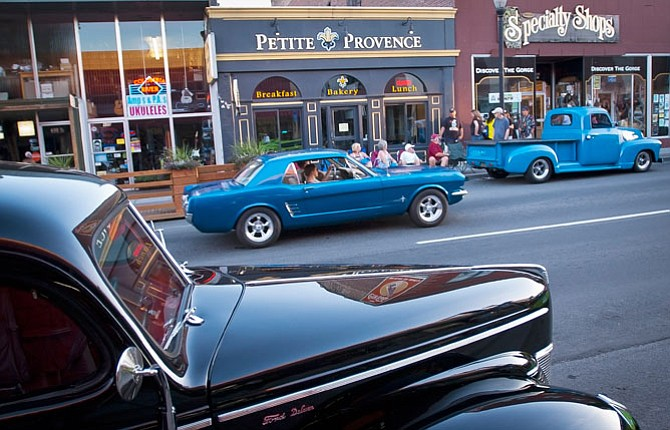 Stanfield belair takes top car show honors cruise photos for Classic motor cars of ellington
