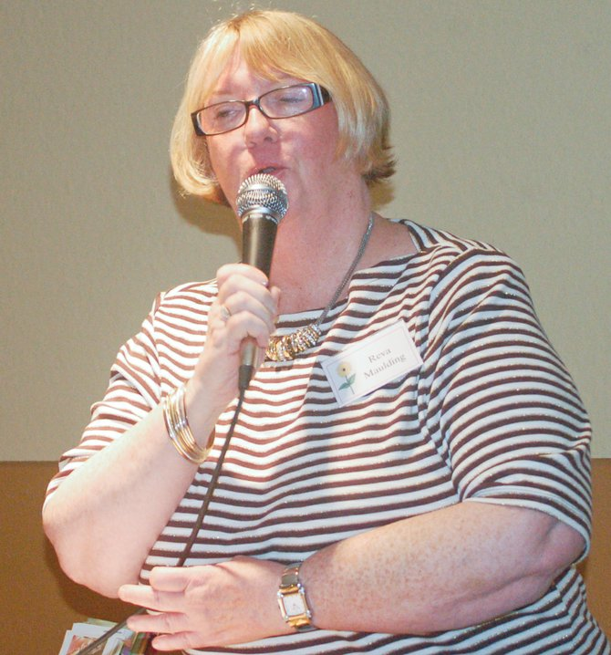 Reva Maulding tells of the constant changes in her life which have helped to strengthen her faith in God. Maulding was the guest speaker at the Lower Valley Christian Women's Connection luncheon held this past Tuesday in Prosser.