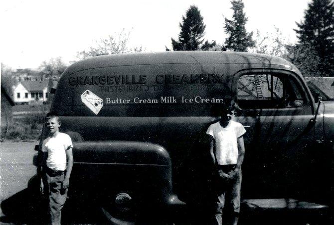 Grangeville Creamery Truck - 1949