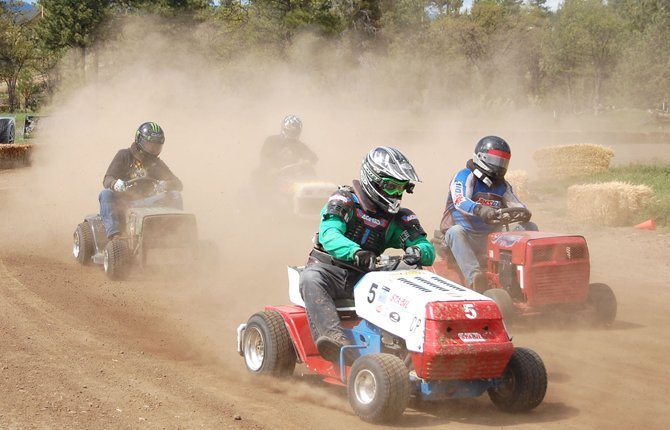 WAMIC IS the place to be this weekend for two days of lawnmower races that will draw participants from across the Northwest and beyond. There is no admission and food is available.	Contributed photo