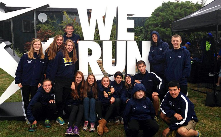 HRVHSboys and girls teams, which both finished fourth out of more than 20 teams in their division.