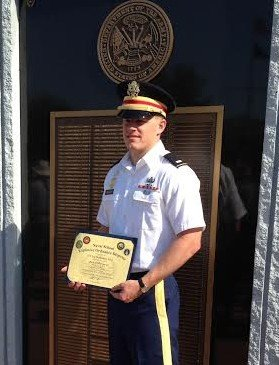 Army 1st Lt. Lee Muench graduated from Explosive Ordnance Disposal School on May 23.