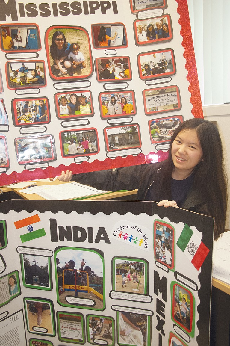 Cheree' LaPierre is on a mission to collect money to purchase medical supplies for a lepers colony located halfway around the world. This is not the first time the Sunnyside High School senior has taken on a charity mission to aid children. Her previous projects have raised funds to purchase school uniforms and playground equipment. During the month of December, she will be collecting money to be used for medical supplies for the Chennai, India lepers colony.