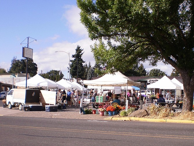 The White Salmon Farmers Market has seen growth in the areas of amount of cash brought in by vendors, number of participating vendors, and number of new vendors. The market also saw participation in the SNAP, WIC, and SFMNP programs, which were accessible at the market for the first time this year.
