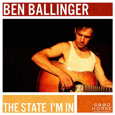 Ben Ballinger plays River City Saloon on Friday, Jan. 2. The Ben Bonham Trio is on the bill as well. Doors open at 9 p.m., Admission is $5. 21 and over only. A limited number of CDs will be available, for those without access to a turntable..