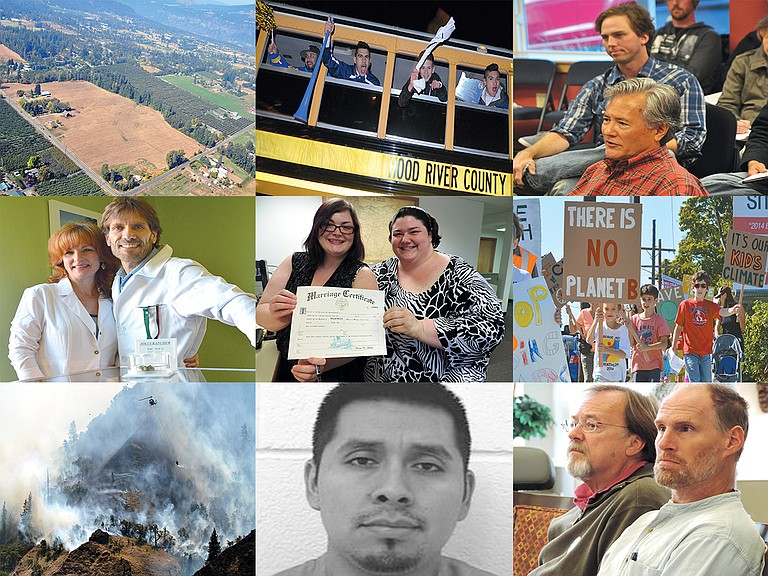 Images from some of the top stories of 2014.
