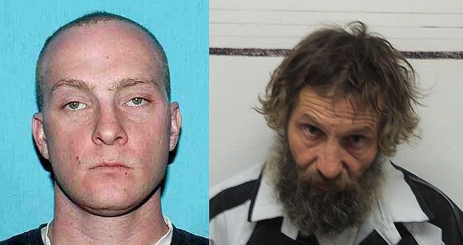 (L-R) Joshua B. Anderson (victim),  Billy J. Ellenberg (shooting suspect).