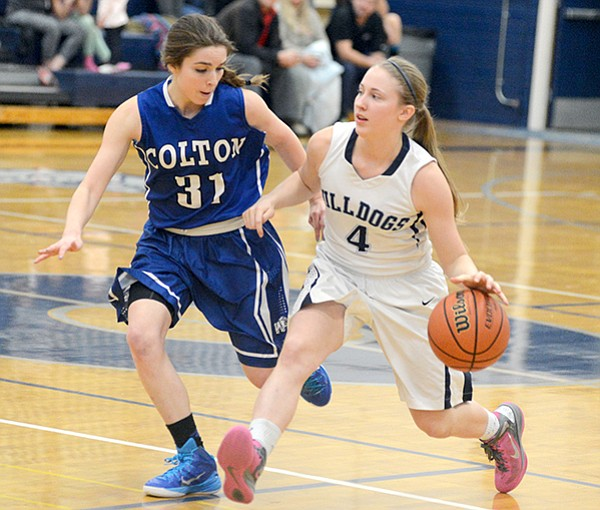Grangeville guard Sarah Wilson finished with four points against Colton on Jan. 13, but pumped in 11 points during Grangeville's 43-31 win over Central Idaho League rival St. Maries last Saturday, Jan. 17.