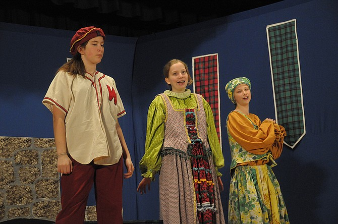 MCT offers a variety of roles for children kindergarten through grade eight. Last year's production (above) was Cinderella.
