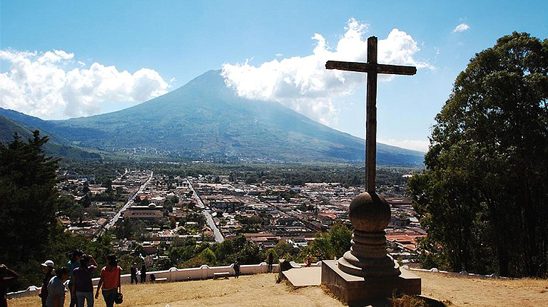 "Guatemala, and the city of Antigua, is truly a stunningly beautiful part of the world, with active volcanoes, a mild tropical climate called ""the eternal spring,"" and vast jungles, rivers, lakes and mountains."