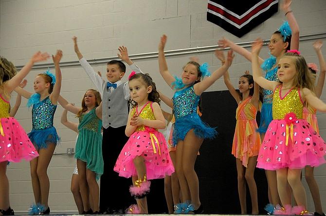 Shirley's Dance Studio held its winter recital Feb. 22 at Nezperce School. More than 30 dancers from Nezperce, Cottonwood and Grangeville danced.