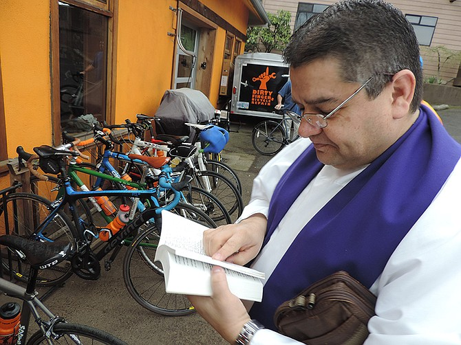 Of Dirty Fingers And Holy Water Sunday Riders Receive Blessing Of