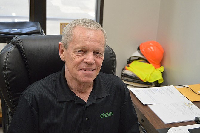 Doug Nichols, Project Manager for Hood River Public Works, has been in the wastewater treatment business since 1979.