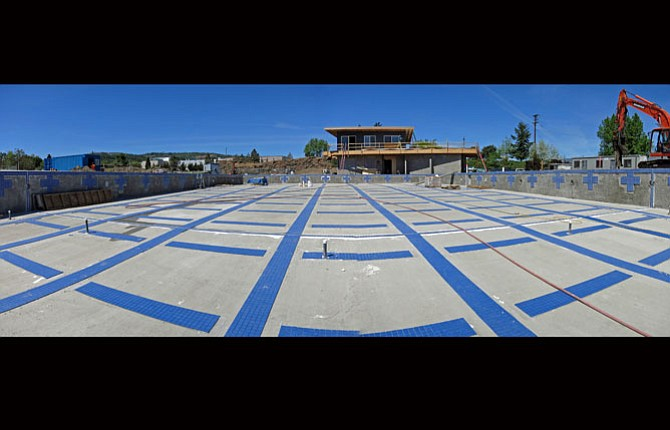 Pool Work On Schedule The Dalles Chronicle