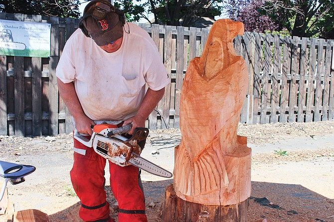 Bbq and chainsaws big hit in grandview daily sun news