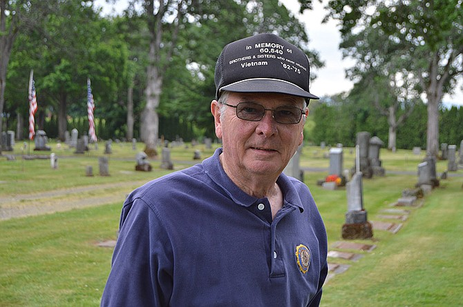 Denny Leonard has been involved with Hood River American Legion Post 22 for 36 years — and all because of a coin toss.