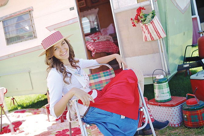 Hannah Skalleberg is a member of the Swenson family, who host the annual Love of Junk vintage market at their farm in Walla Walla. The event will be held this year on Friday, June 12, and Saturday, June 13.
