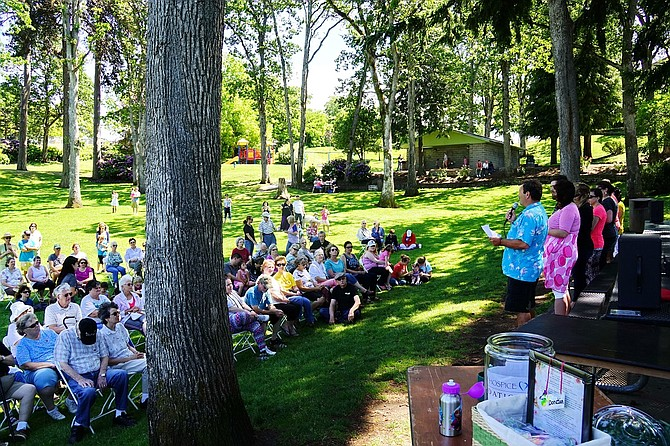 ANNUAL Butterfly Release — part therapy, part worship, part family reunion — draws a large crowd at Jackson Park in Hood River for what organizers said was the most successful event yet.