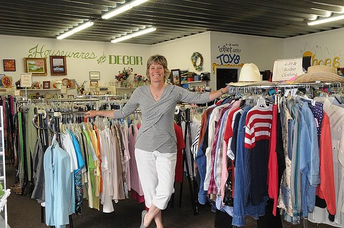 Kristi Brooks has taken the positon of manager at Syringa Thrift Store in Grangeville.