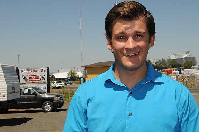 Travis Goehring is now a full-fledged real estate agent currently employed at Central Idaho Properties.