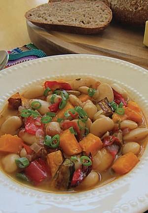 Italian White Bean and Fall Vegetable Stew