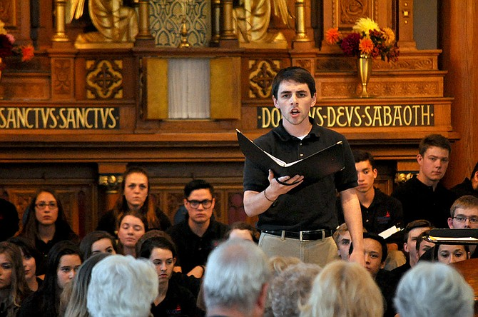 "Baritone Nick Braukmann performs ""Ah! Spietato!"" from the opera, Amadigi di Gaula."
