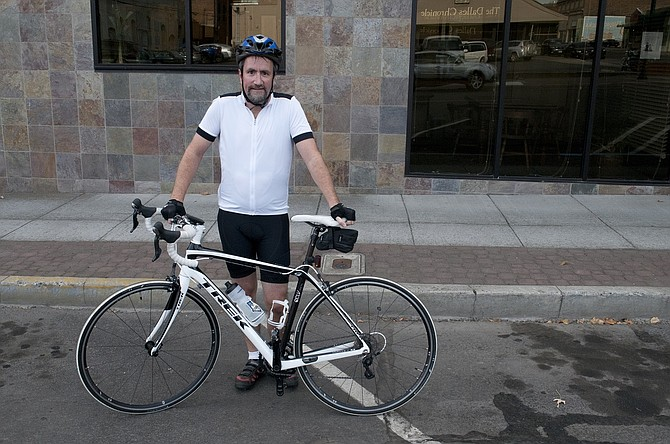 DAVE KARLSON, operations manager at Google, started biking to work one day a week this summer.