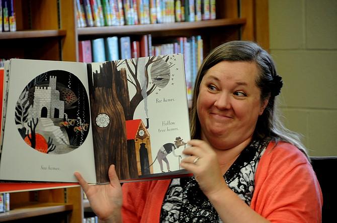 Grangeville Centennial Library librarian Becky Hosman.