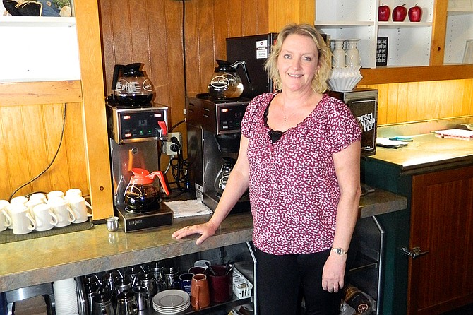 Diana Oestreich offers breakfast and lunch at the newly revamped Cariboo Inn restaurant.