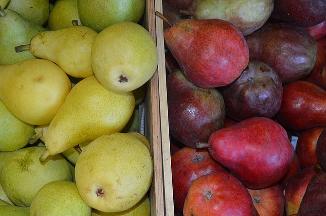 "PEARS survive the 2015 drought, though ""cork spot"" causes considerable culling."