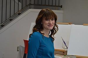 Local artist Joy Kloman has opened Joy's Art Studio.