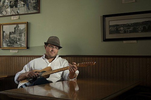"Eric John Kaiser plays at The Pines on Friday, Dec. 4, from 5:30-8:30 p.m. ""If you can imagine Americana interpreted through a French lens, then you can see and hear what Eric John Kaiser brings to the table."""