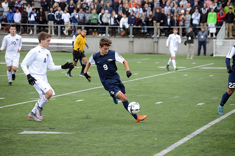 FIRST TEAM ALL-STATE athletes included Noe Magana from HRV boys soccer.
